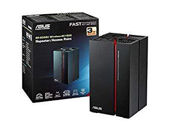 Asus RP-AC68U - Repetidor Inalámbrico AC1900 Dual-Band - ASUS RT